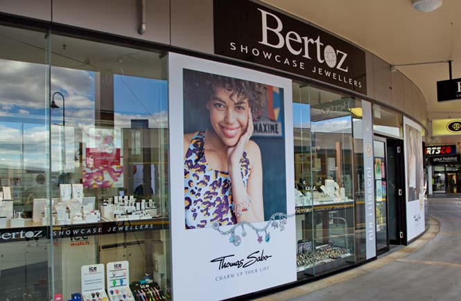 Bertoz Showcase Jewellers in Kingston, TAS